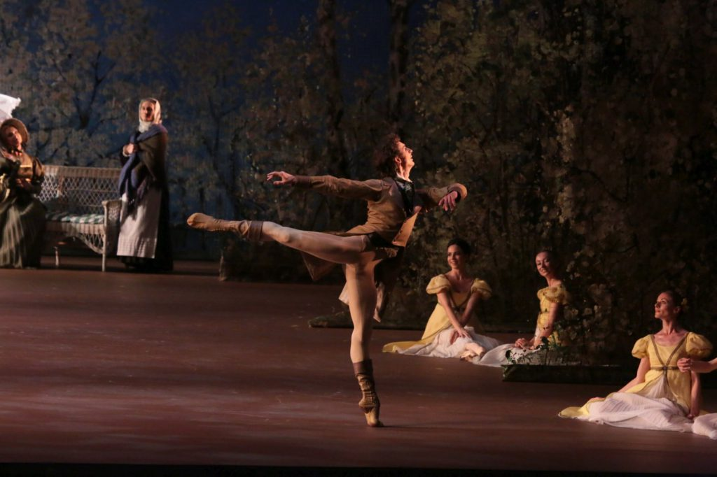 "11. S.Chudin and ensemble, ""Onegin"" by J.Cranko, Bolshoi Ballet © D.Yusupov/Bolshoi Theatre"