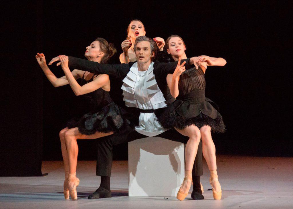 "3. A.Belyakov, A.Tikhomirova, D.Bochkova and D.Khokhlova, ""The Taming of the Shrew"" by J.-C.Maillot, Bolshoi Ballet © M.Logvinov/Bolshoi Theatre"