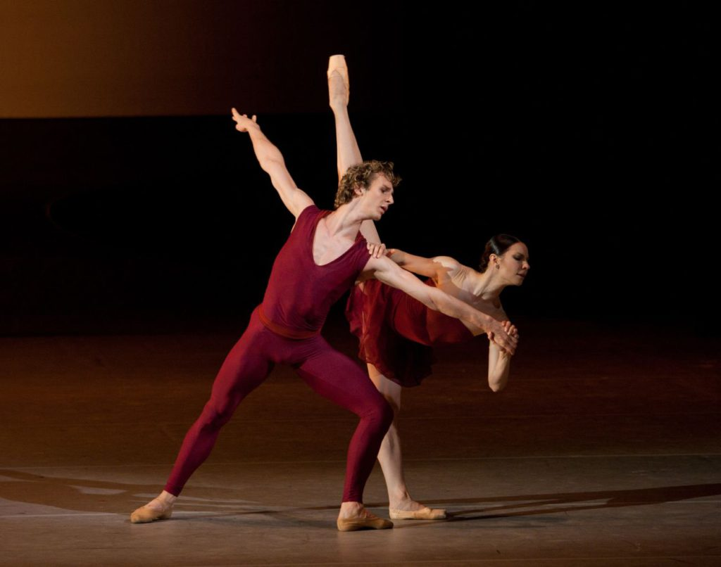 "8. S.Chudin and M.Alexandrova, ""Dream of Dream"" by J.Elo, Bolshoi Ballet © E.Fetisova/Bolshoi Theatre"