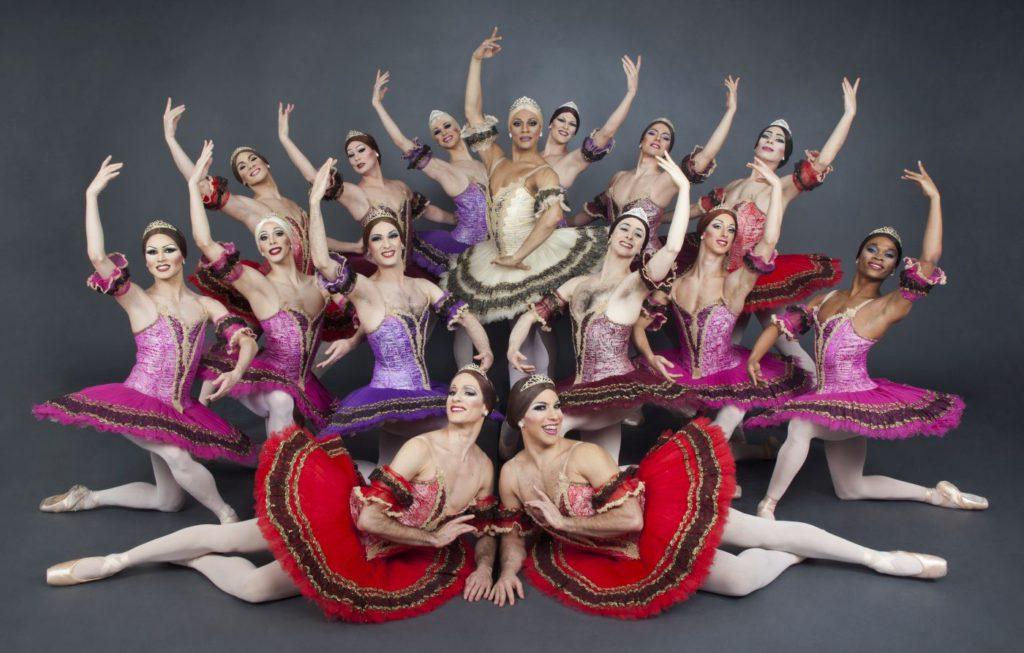 "8. Ensemble, ""Paquita"" after M.Petipa, Les Ballets Trockadero de Monte Carlo © S.Vaughan"