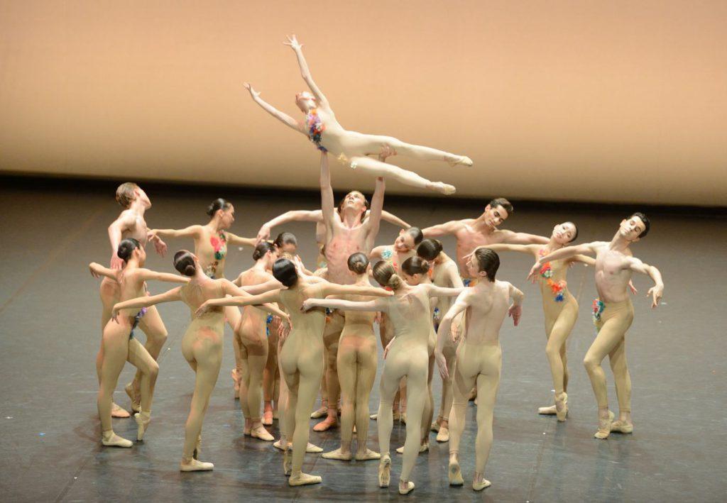 """5. Students of the John Cranko School, """"The Four Seasons"""": """"Spring"""" by K.Kozielska © Stuttgart Ballet 2016"""