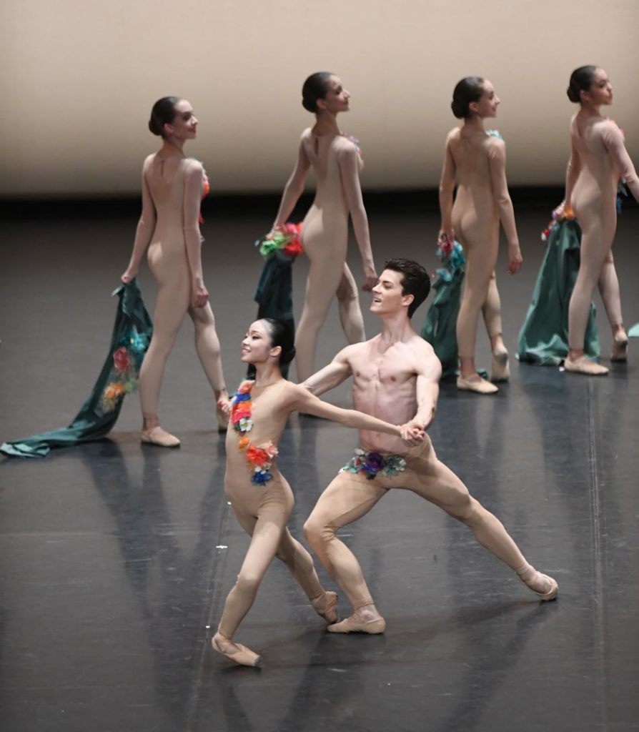"""3. Students of the John Cranko School, """"The Four Seasons"""": """"Spring"""" by K.Kozielska © Stuttgart Ballet 2016"""