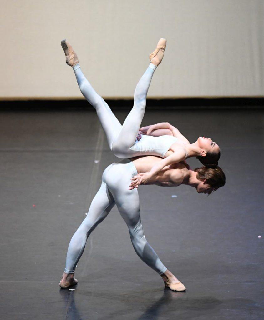 """16. E.S.Kim and N.Korneev, """"The Four Seasons"""": """"Winter"""" by D.Volpi © Stuttgart Ballet 2016"""