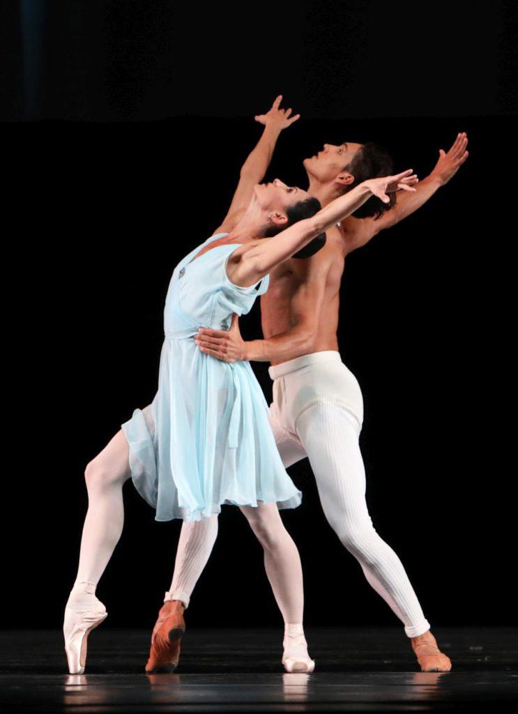 """14. A.Tsygankova and D.Camargo, """"Adagio Hammerklavier"""" by H.van Manen, Dutch National Ballet © H.Gerritsen 2016"""