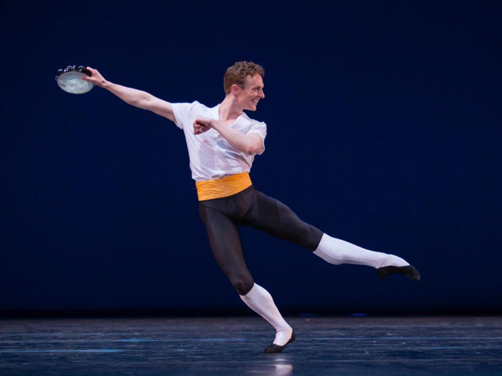 "11. R.Wörtmeyer, ""Tarantella Pas de Deux"" by G.Balanchine, Dutch National Ballet © A.Kaftira 2016"
