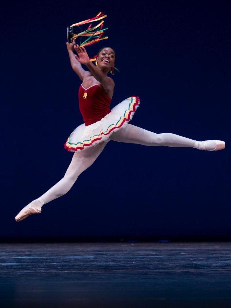 "12. M.DePrince, ""Tarantella Pas de Deux"" by G.Balanchine, Dutch National Ballet © A.Kaftira 2016"