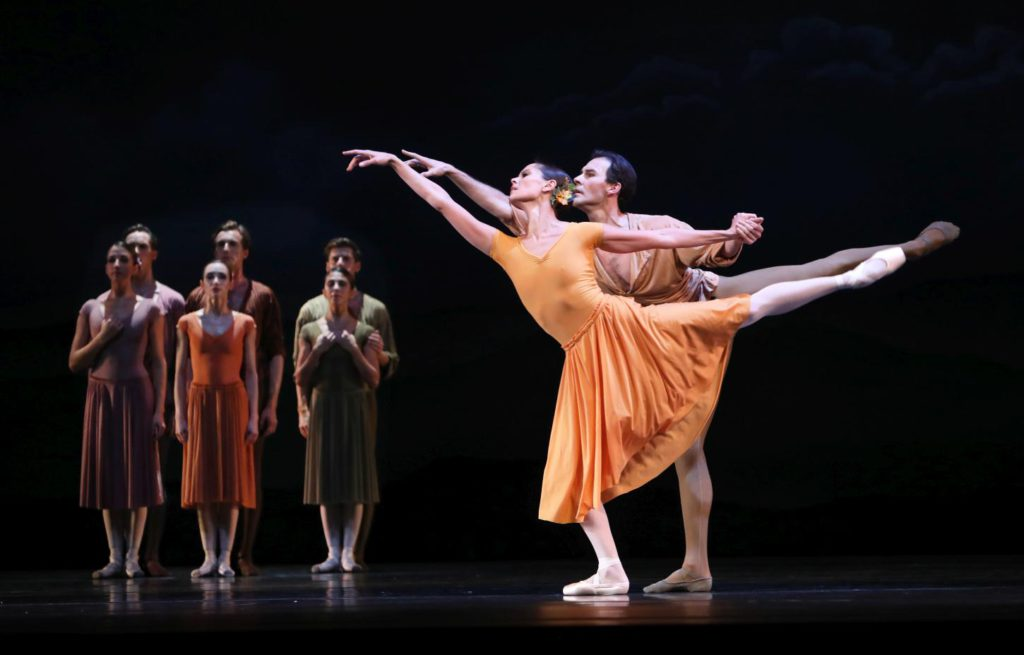 "10. I.de Jongh, J.Varga and ensemble, ""Four Last Songs"" by R.van Dantzig, Dutch National Ballet © H.Gerritsen 2016"