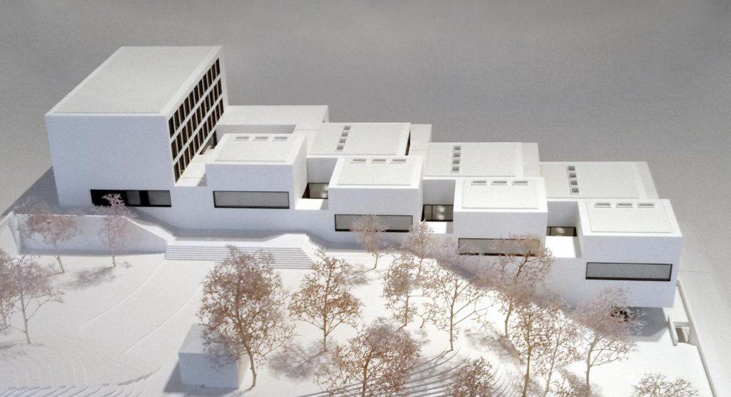20. Model of the new building of the John Cranko School © R.Grolms 2016