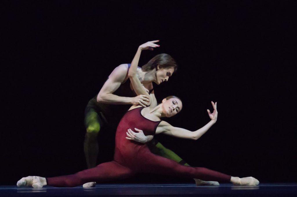 "31. E.Shipulina and D.Rodkin, ""Frank Bridge Variations"" by H.van Manen, Bolshoi Ballet © M.Logvinov / Bolshoi Theatre"