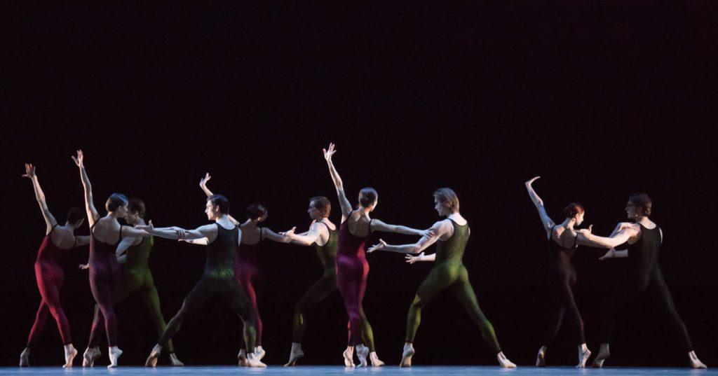 "30. Ensemble, ""Frank Bridge Variations"" by H.van Manen, Bolshoi Ballet © M.Logvinov / Bolshoi Theatre"
