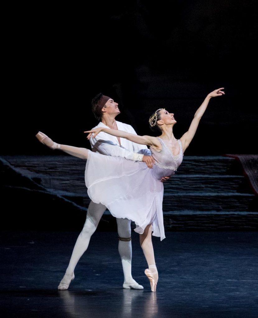 """5. R.Gabdullin and L.Konovalova, """"Le Corsaire"""" by M.Legris after M.Petipa et al. © Vienna State Ballet / A.Taylor 2016"""