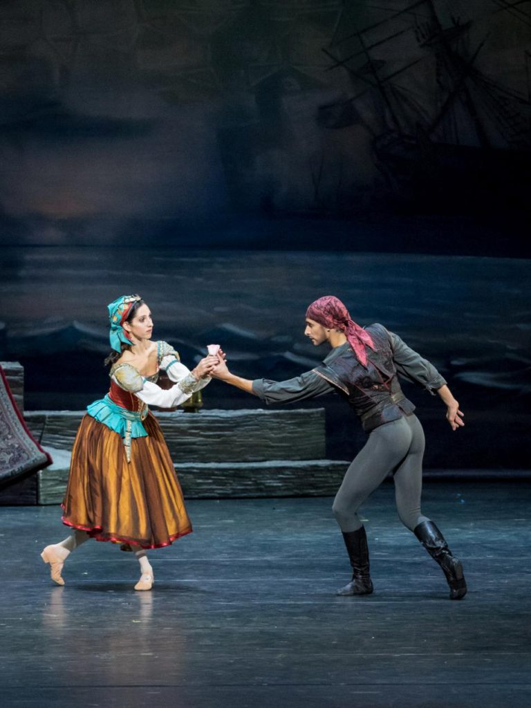 """1. A.Manolova and R.Szabó, """"Le Corsaire"""" by M.Legris after M.Petipa et al. © Vienna State Ballet / A.Taylor 2016"""