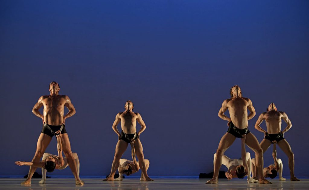 """7. Ensemble, """"Grosse Fuge"""" by H.van Manen, Dutch National Ballet © A.Sterling"""