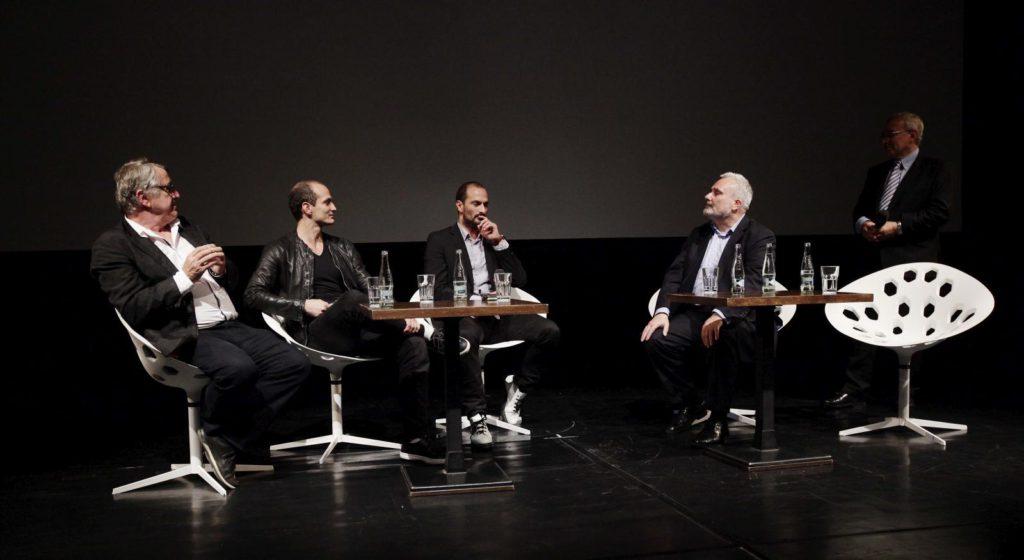 """2. J.Bouček, O.Bubeníček, J.Bubeníček, M.Kubala and J.Vejvoda, """"Tribute to Otto and Jiří Bubeníček"""", International Television Festival Golden Prague © Czech Television 2016"""