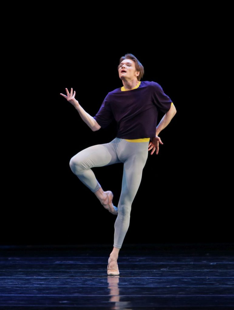 "39. A.Sergeev, ""Solo"" by H.van Manen, Maryinsky Ballet © N.Razina / Maryinsky Theatre"
