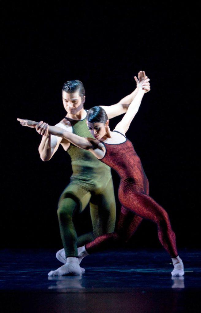 """29. M.do Amaral and R.Şucheană, """"Frank Bridge Variations"""" by H.van Manen, Ballett am Rhein © G.Weigelt"""