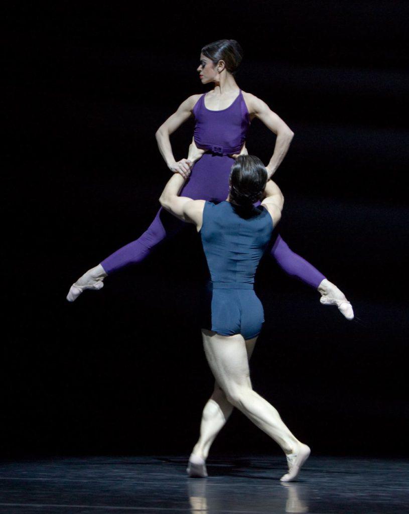 """52. M.do Amaral and R.Şucheană, """"Two"""" by H.van Manen, Ballett am Rhein © G.Weigelt"""