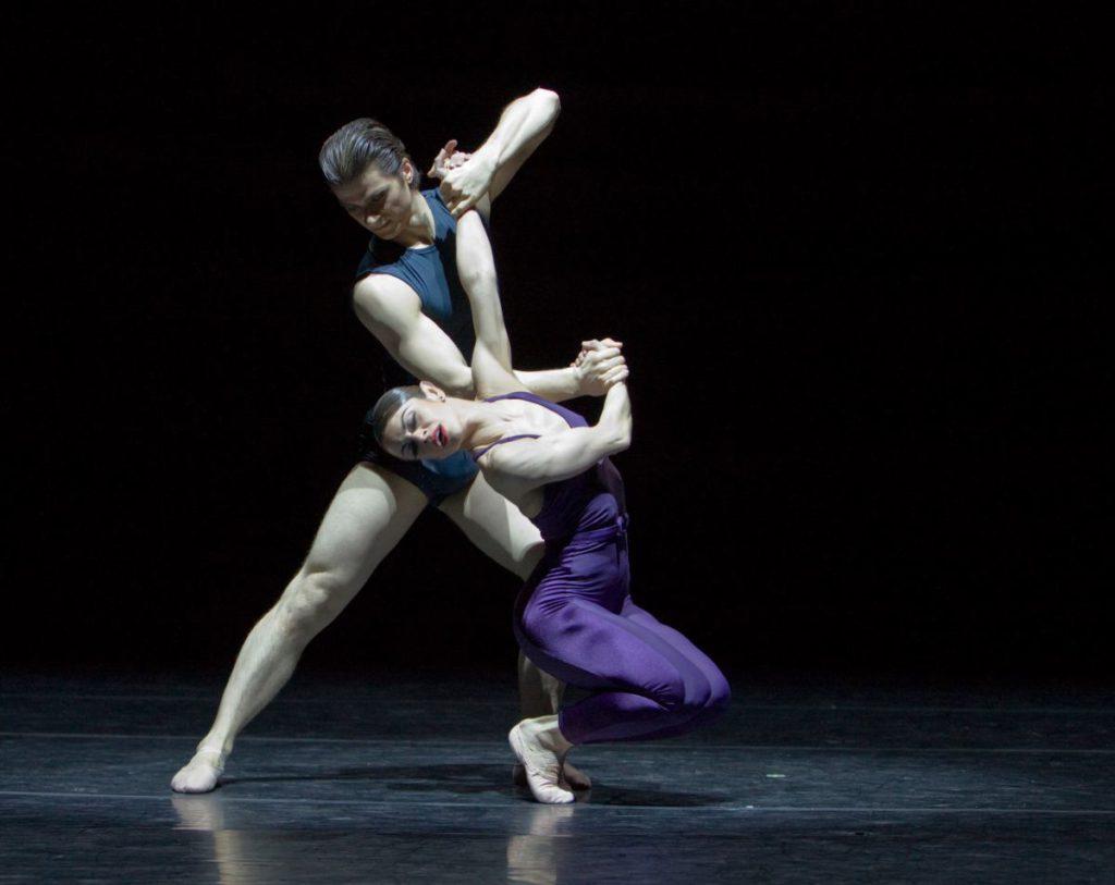 """54. M.do Amaral and R.Şucheană, """"Two"""" by H.van Manen, Ballett am Rhein © G.Weigelt"""