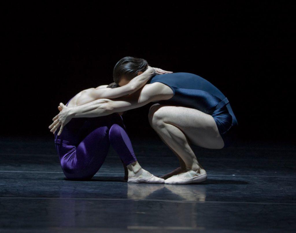 """53. M.do Amaral and R.Şucheană, """"Two"""" by H.van Manen, Ballett am Rhein © G.Weigelt"""