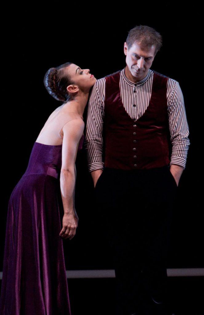 """44. M.do Amaral and M.Schläpfer , """"The Old Man and Me"""" by H.van Manen, Ballett am Rhein © G.Weigelt"""