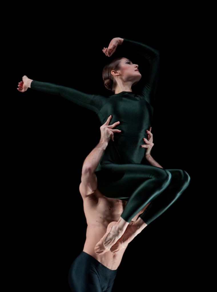 """46. A.Simões and F.van Dijken, """"Kleines Requiem"""" by H.van Manen, Ballett am Rhein © G.Weigelt"""