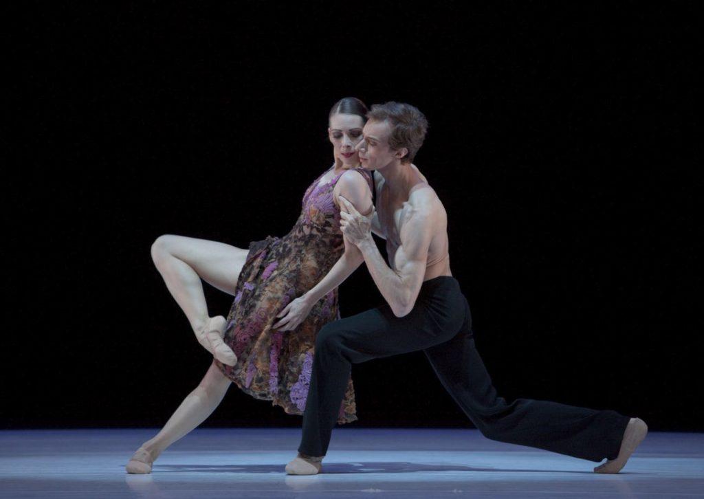 """11. J.Thirault and M.Menha, """"Without Words"""" by H.van Manen, Ballett am Rhein © G.Weigelt"""
