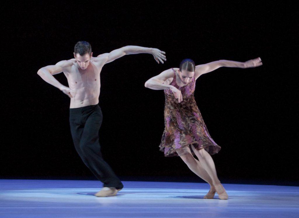 """10. P.Calderon and J.Thirault, """"Without Words"""" by H.van Manen, Ballett am Rhein © G.Weigelt"""