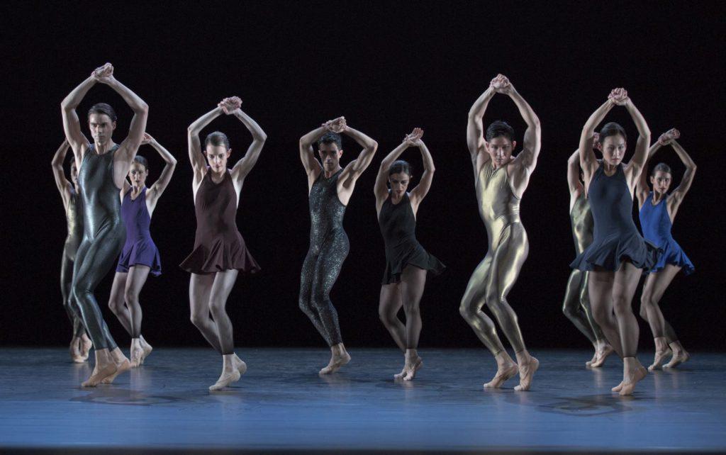 """41. Ensemble, """"Two Gold Variations"""" by H.van Manen, Ballett am Rhein © G.Weigelt"""