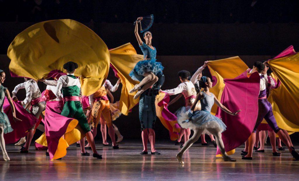 "16. S.Gileva, I.Simon and ensemble, ""Don Quixote"" by A.S.Watkin, Semperoper Ballet © S.Ballone 2016"