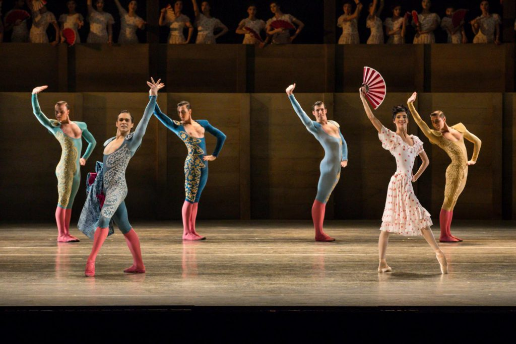 "2. I.Simon, S.Gileva and ensemble, ""Don Quixote"" by A.S.Watkin, Semperoper Ballet © S.Ballone 2016"