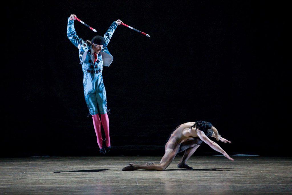 "4. C.Bauch and I.Simon, ""Don Quixote"" by A.S.Watkin, Semperoper Ballet © S.Ballone 2016"