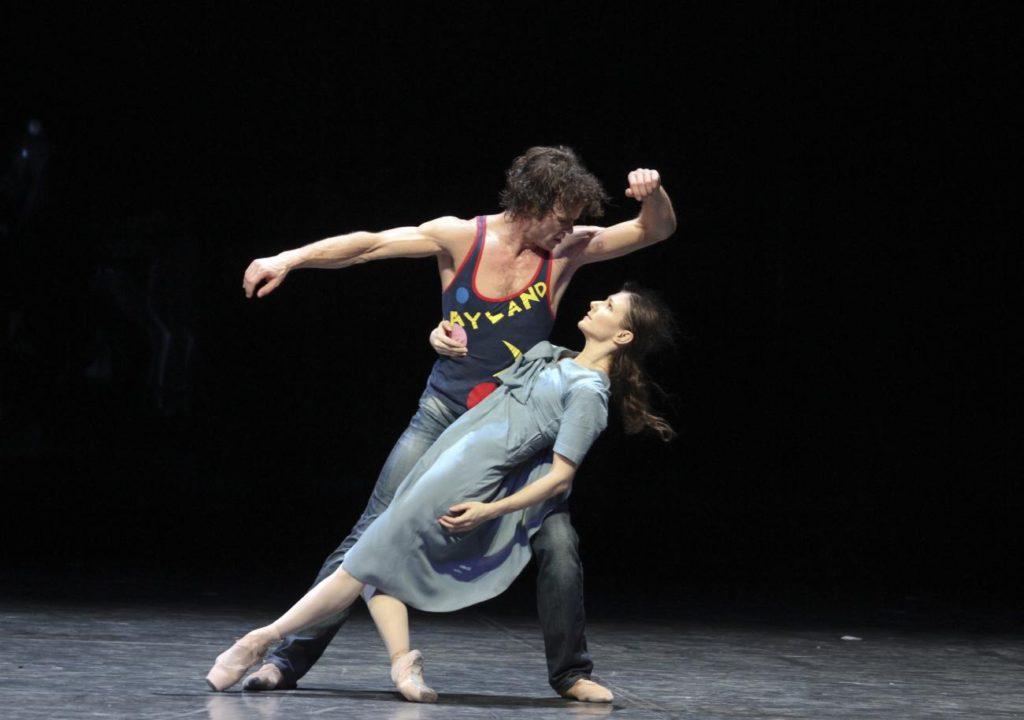 "3. C.Jung and A.Cojocaru, ""Liliom"" by J.Neumeier, Hamburg Ballet © H.Badekow 2015"