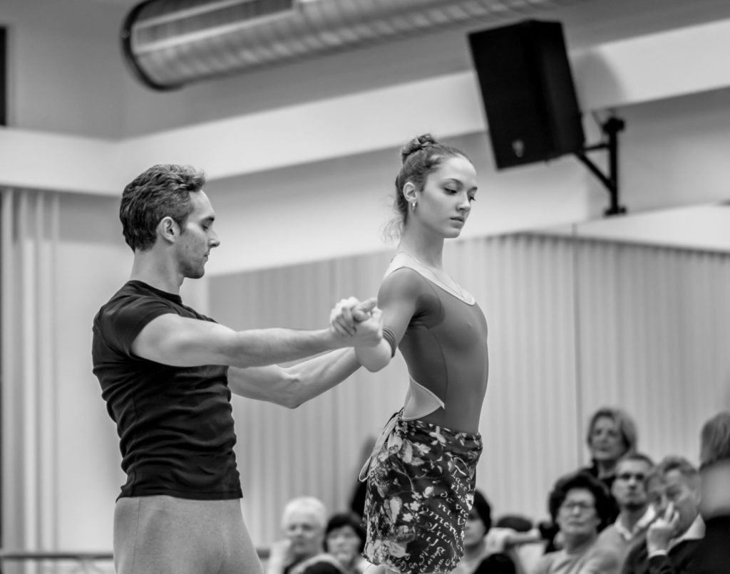 "1. M.Urban and P.Zeisel, ""Ballet Extra: Open Rehearsal for Spartacus"", chor.: Y.Grigorovich, Bavarian State Ballet © N.Rodboon 2016"