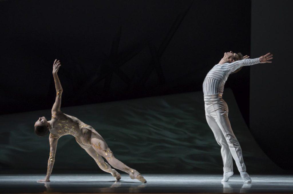 "10. O.Smirnova and S.Chudin, ""La Belle"" by J.-C.Maillot, Les Ballets de Monte Carlo © A.Blangero 2017"