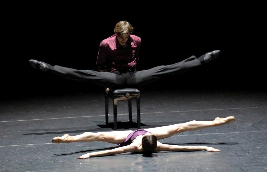 """2. M.Shirinkina and V.Shklyarov, """"Parting"""" by Y.Smekalov, Bavarian State Ballet © W.Hösl 2017"""