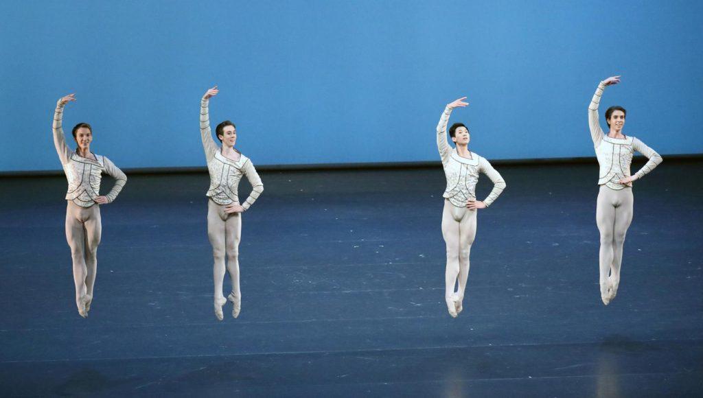 "10. K.Ivkin, D.Vyskubenko, W.Li and V.Dolgikh, ""Raymonda"" by R.Barra after M.Petipa, Bavarian State Ballet © W.Hösl 2017"