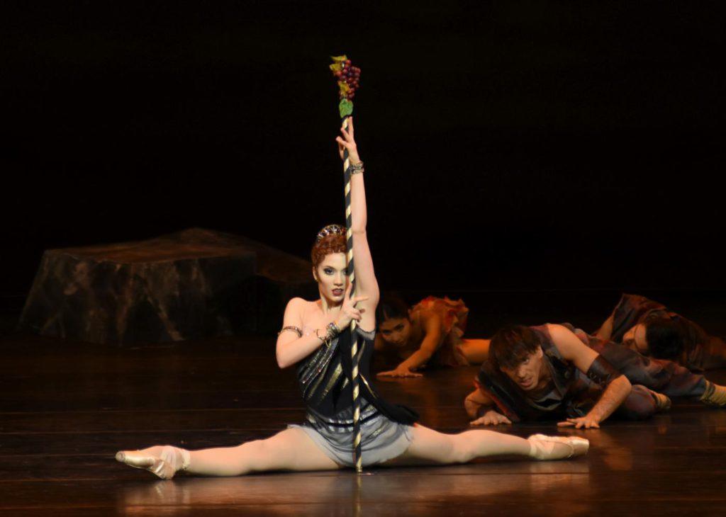 """3. P.Zeisel, """"Spartacus"""" by Y.Grigorovich, Bavarian State Ballet © W.Hösl 2017"""