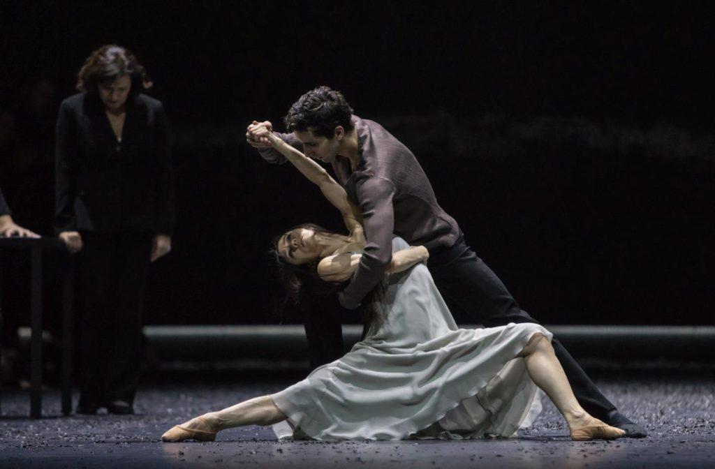"14. Y.Han, F.Portugal and K.Stoyanova, ""Messa da Requiem"" by C.Spuck, Ballet Zurich © G.Batardon 2017"