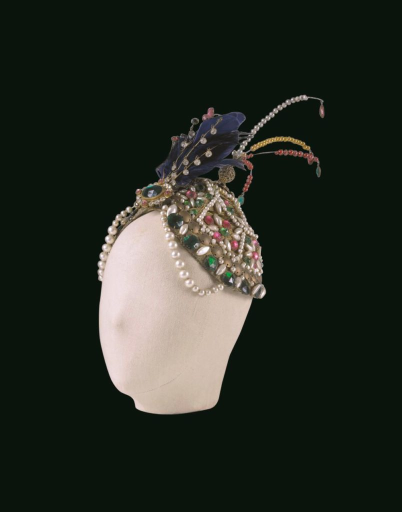 "7. Headdress for I.Rubinstein in ""Schéhérazade"", chor.: M.Fokine 1910 © BnF, département de la Musique, Bibliothèque-musée de l'Opéra"