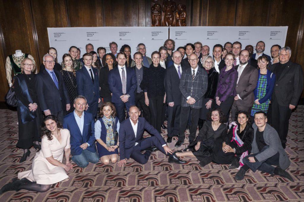 """1. Participants of """"Positioning Ballet"""", Dutch National Ballet 2017 © Dutch National Ballet"""