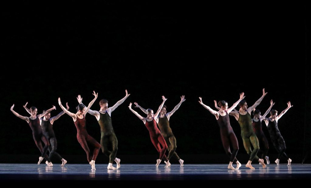 "16. Ensemble, ""Frank Bridge Variations"" by H.van Manen, Dutch National Ballet 2017 © H.Gerritsen"