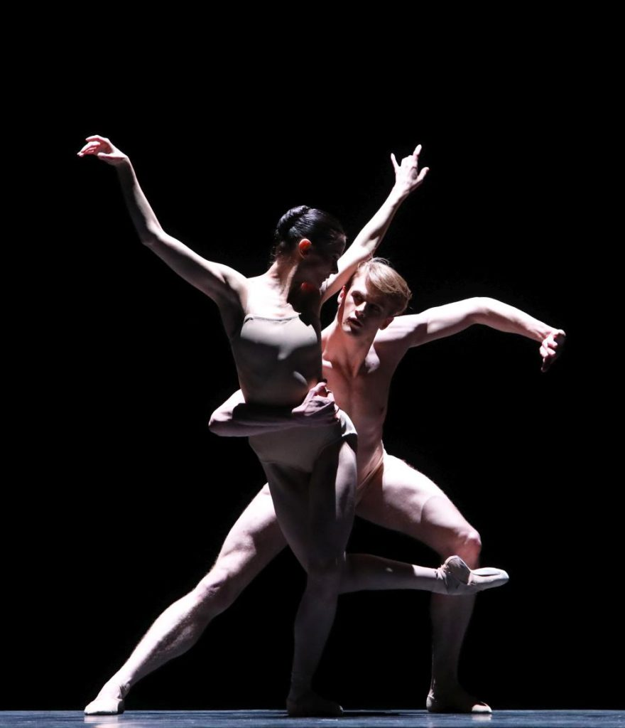 "13. E.Merdjanova and C.Fröhlich, ""Moving Rooms"" by K.Pastor, Dutch National Ballet 2017 © H.Gerritsen"