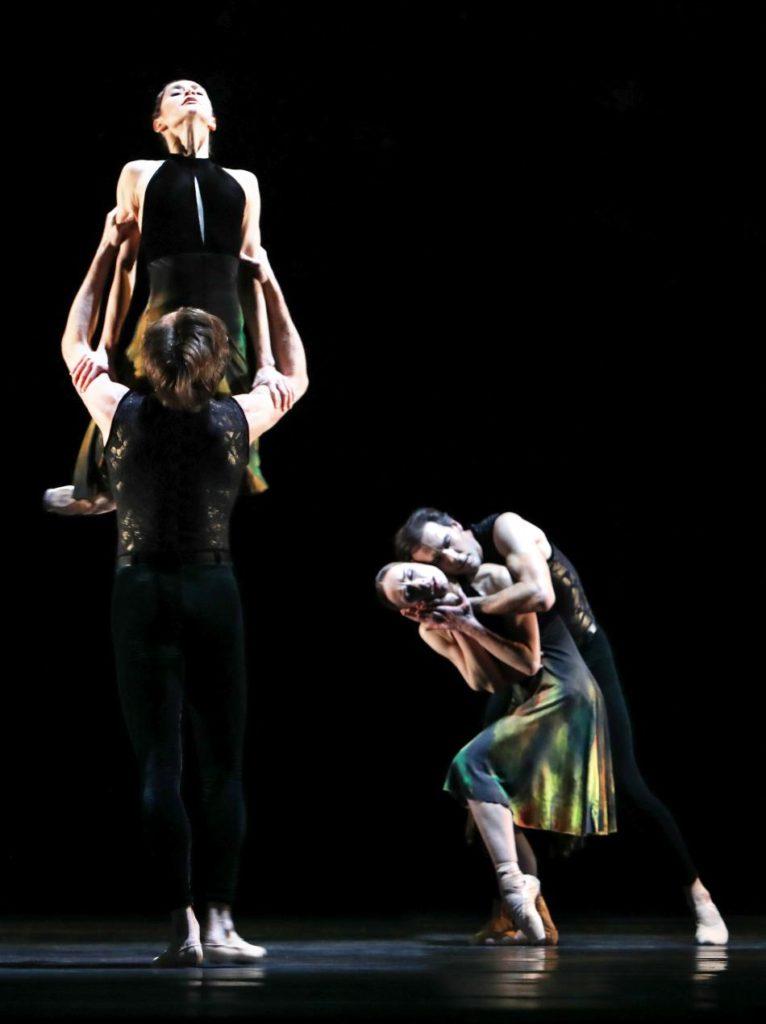 "10. A.Ol, A.Shesterikov, V.Tsyganova and J.Varga, ""Souvenir d'un lieu cher"" by A.Ratmansky, Dutch National Ballet 2017 © H.Gerritsen"