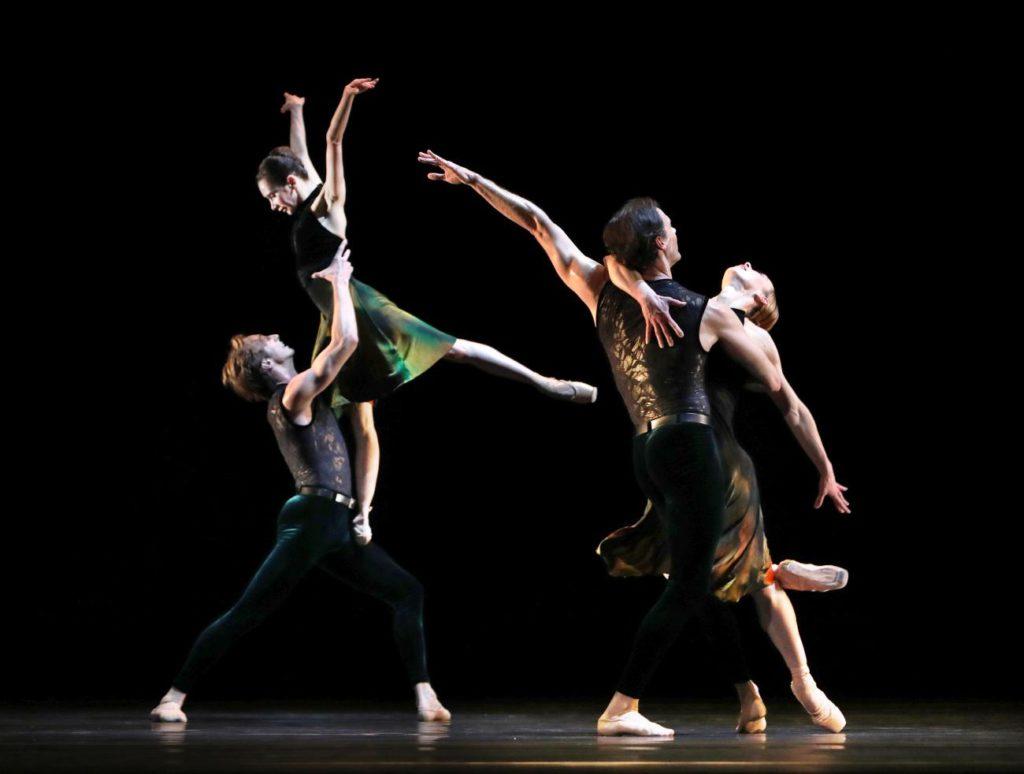 "11. A.Ol, A.Shesterikov, V.Tsyganova and J.Varga, ""Souvenir d'un lieu cher"" by A.Ratmansky, Dutch National Ballet 2017 © H.Gerritsen"