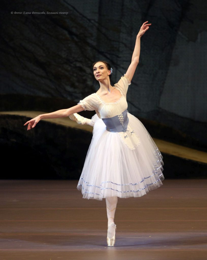 "2. O.Smirnova, ""Giselle"" by Y.Grigorovich after J.Coralli, J.Perrot and M.Petipa, Bolshoi Ballet 2017 © Bolshoi Theatre / E.Fetisova"