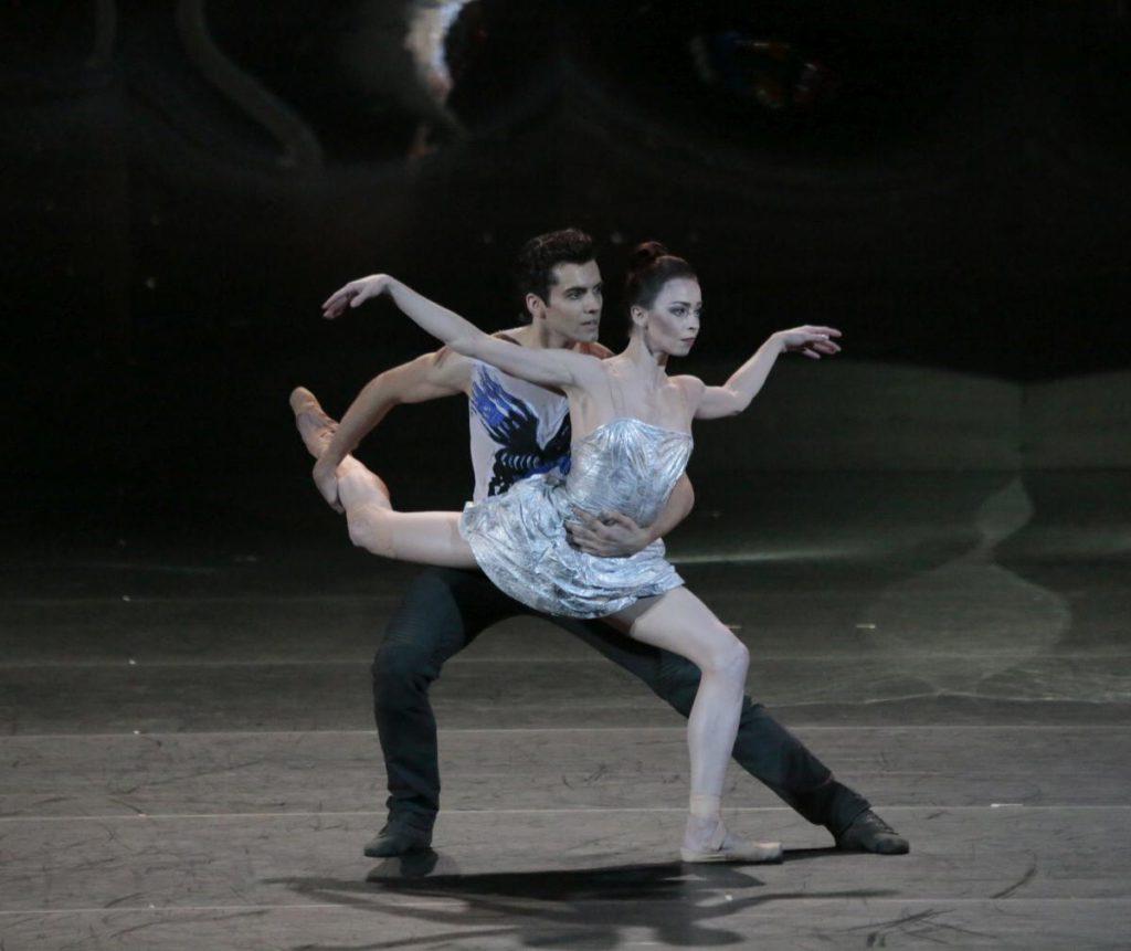 "1. I.Tsvirko and E.Krysanova, ""Ondine"" by V.Samodurov, Bolshoi Ballet 2017 © Bolshoi Theatre / D.Yusupov"