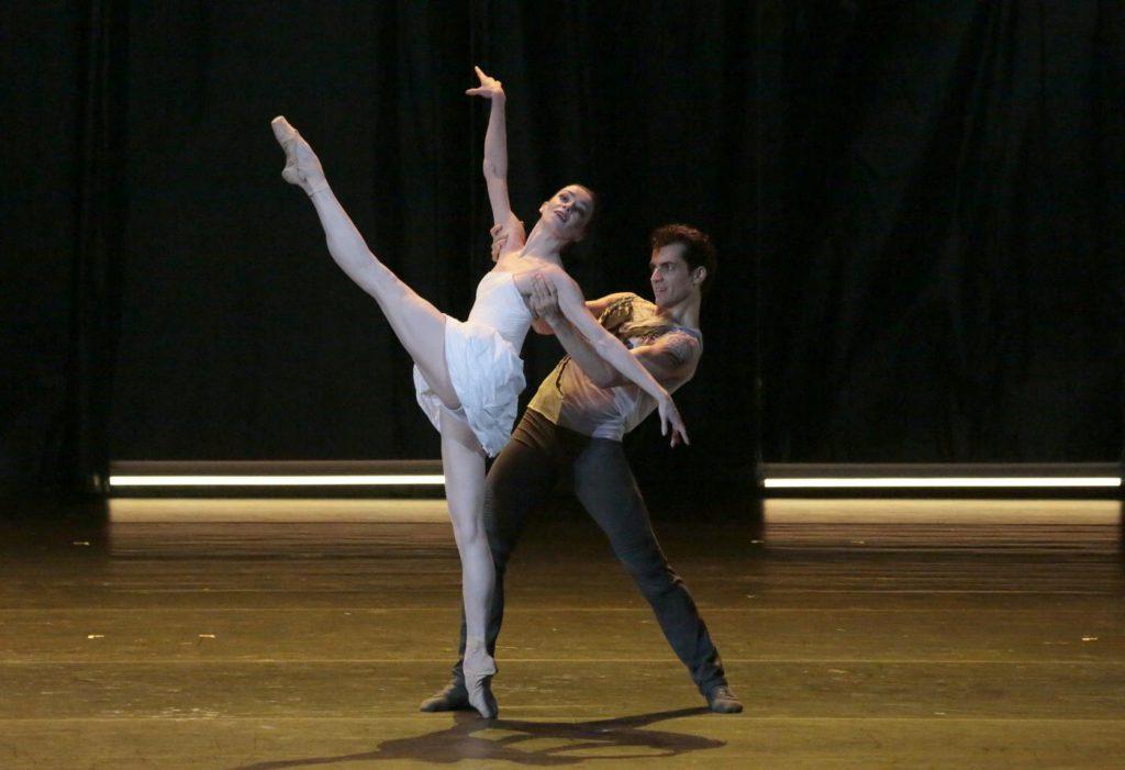 "2. E.Krysanova and I.Tsvirko, ""Ondine"" by V.Samodurov, Bolshoi Ballet 2017 © Bolshoi Theatre / D.Yusupov"