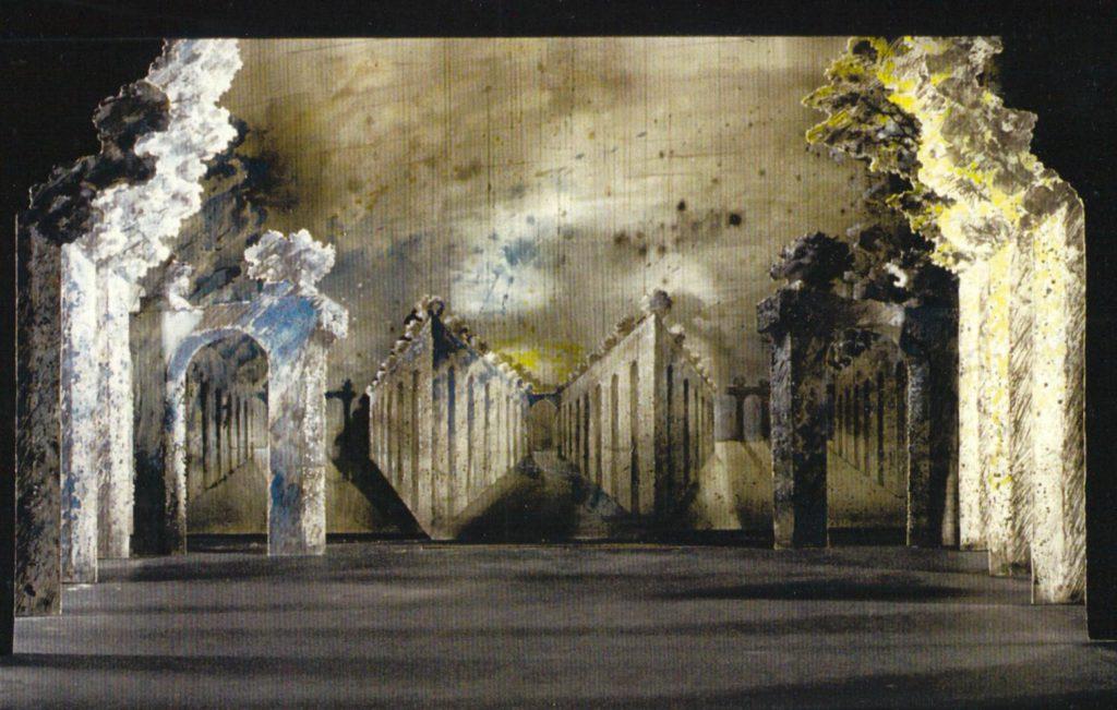 """42. Maquette of """"Brahms-Schönberg Quartet"""" by T.van Schayk © M.-J.van Hövell tot Westerflier"""