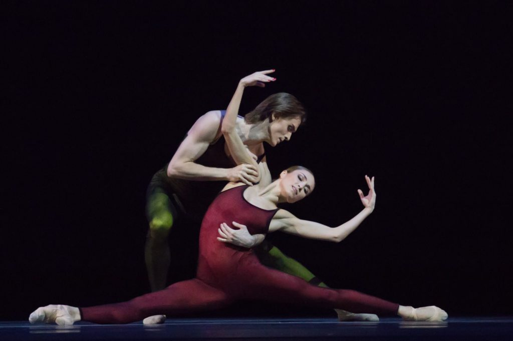 "1. D.Rodkin and E.Shipulina, ""Frank Bridge Variations"" by H.van Manen, Bolshoi Ballet 2017 © M.Logvinov / Bolshoi Theatre"