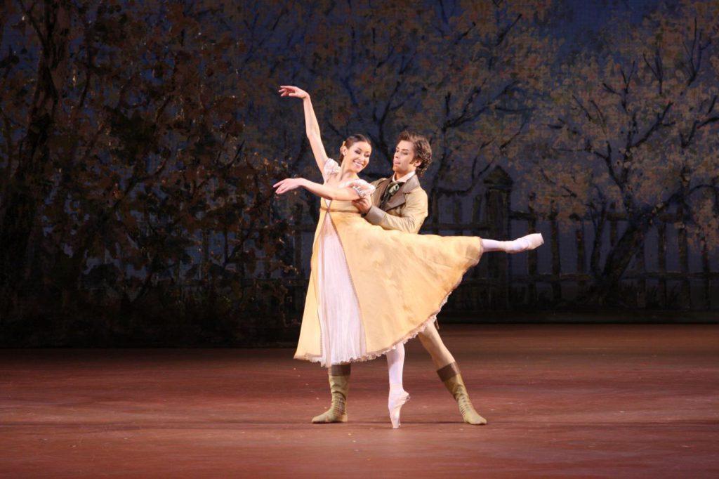 "3. K.Kretova and A.Ovcharenko, ""Onegin"" by J.Cranko, Bolshoi Ballet © Bolshoi Theatre / E.Fetisova"
